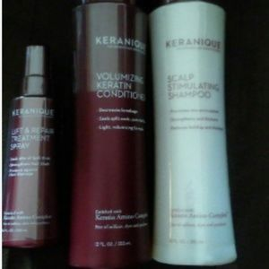 Keranique hair regrowth shampoo and conditioner